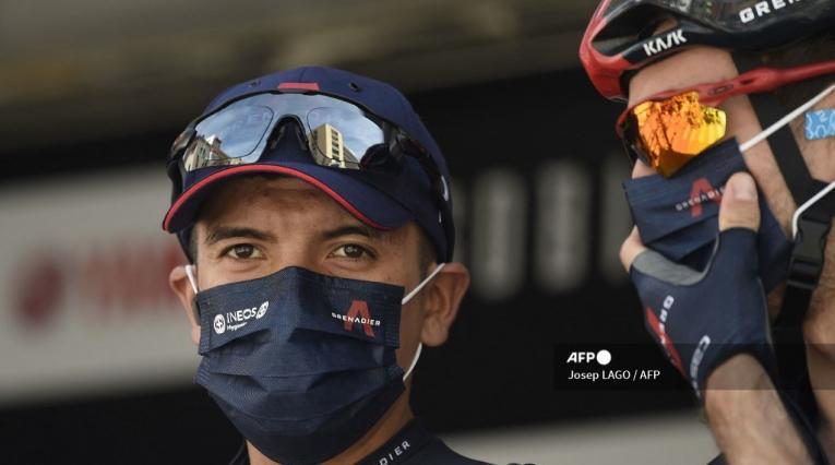 Richard Carapaz, ciclista de Ineos
