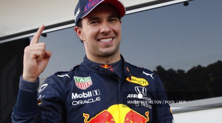 Sergio Checo Pérez, piloto de Red Bull