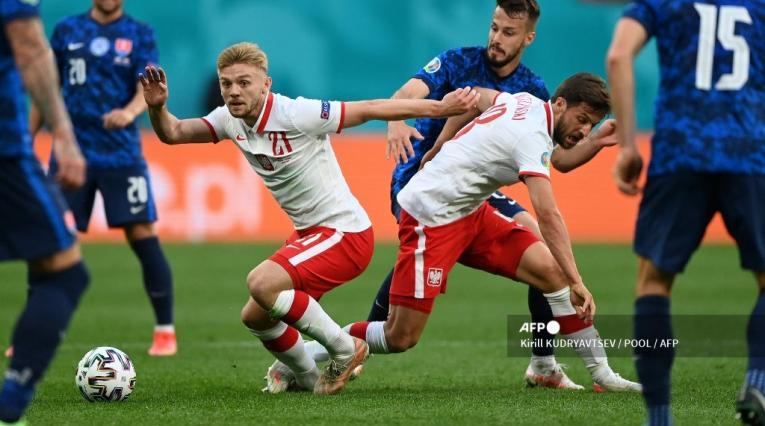 Eslovaquia vs Polonia, Eurocopa 2021