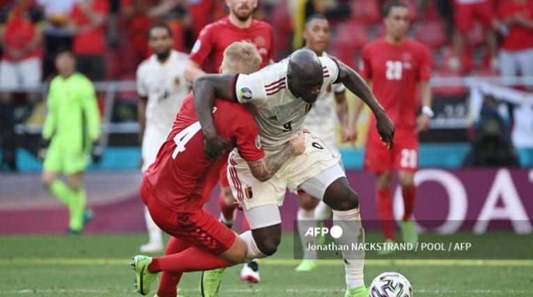 Dinamarca vs Bélgica, Eurocopa