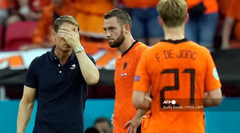 Frank de Boer, Holanda, Eurocopa 2021