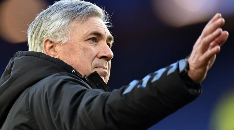 Carlo Ancelotti, técnico de Everton