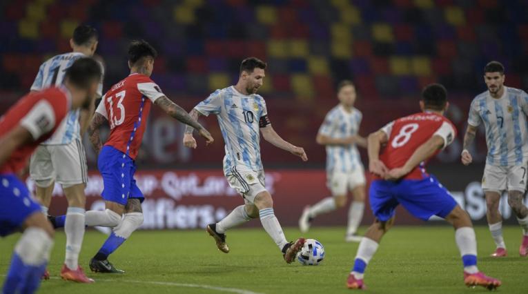 Argentina vs Chile, Eliminatorias Qatar 2022