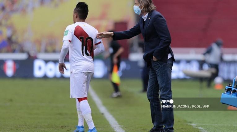 Ricardo Gareca, selección Perú