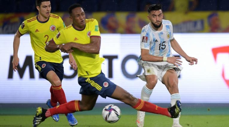 Selección Colombia, Colombia vs Argentina, Yerry Mina