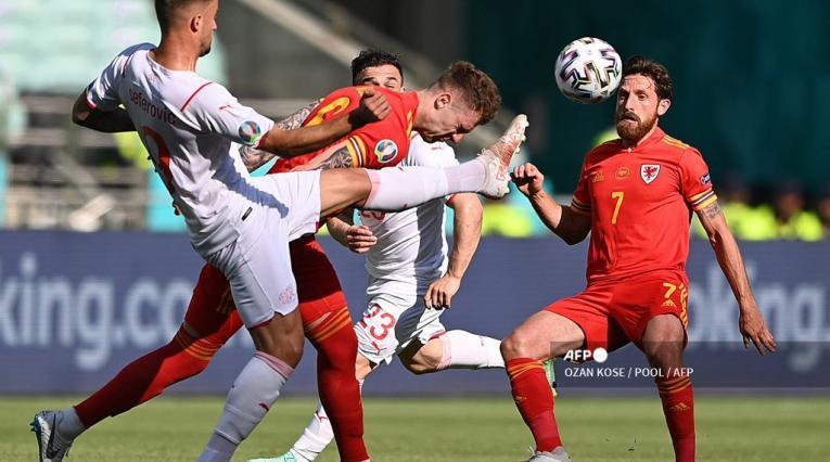 Gales vs Suiza, Eurocopa 2021