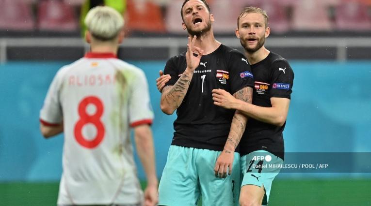 Austria vs Macedonia; Eurocopa 2021