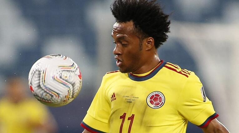 Juan Guillermo Cuadrado 2021 - Selección Colombia