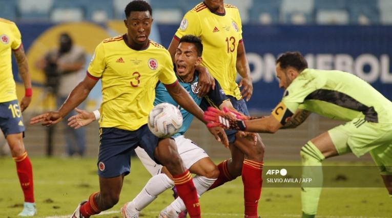 Colombia vs Ecuador; Copa América 2021
