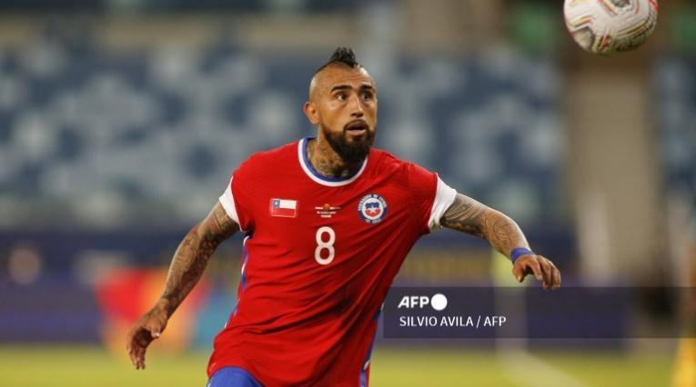 Vidal, jugador de Chile