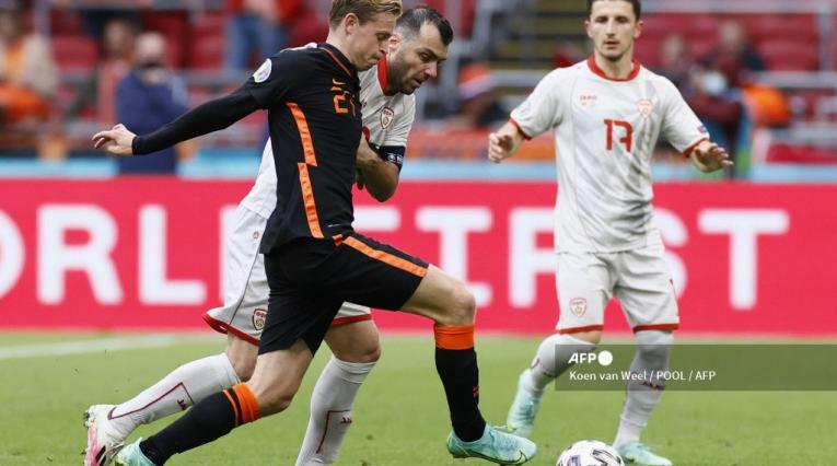 Holanda vs Macedonia - Eurocopa