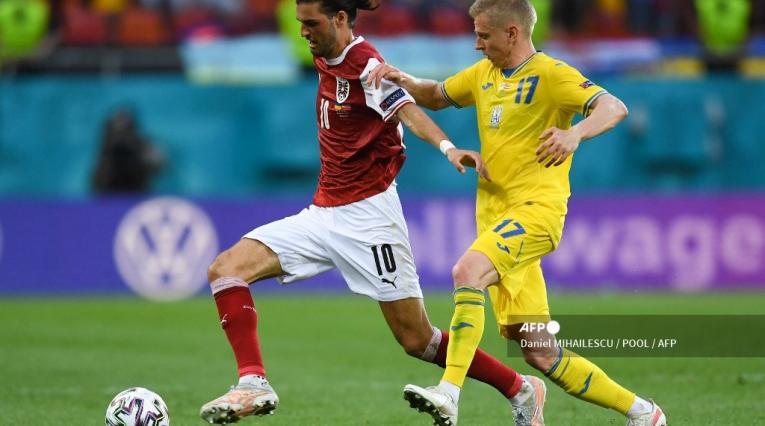 Austria vs Ucrania - Eurocopa