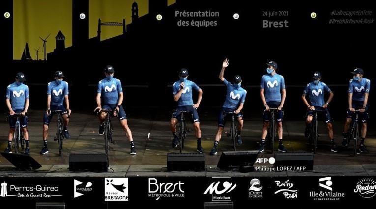 Movistar Team 2021 - Tour de Francia