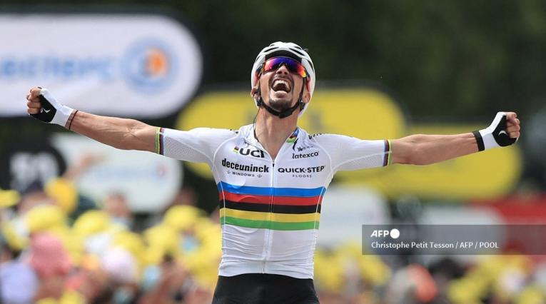 Julian Alaphilippe, Tour de Francia 2021