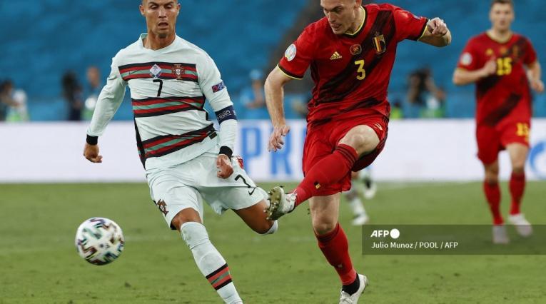 Bélgica vs Portugal - Cristiano Ronaldo