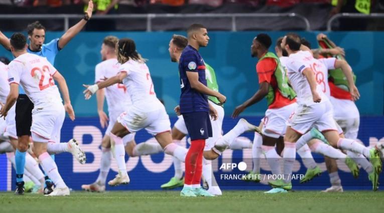 Mbappé falló el penal de Francia vs Suiza