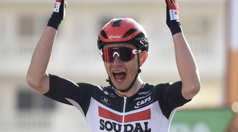 Andreas Kron, corredor del Lotto Soudal