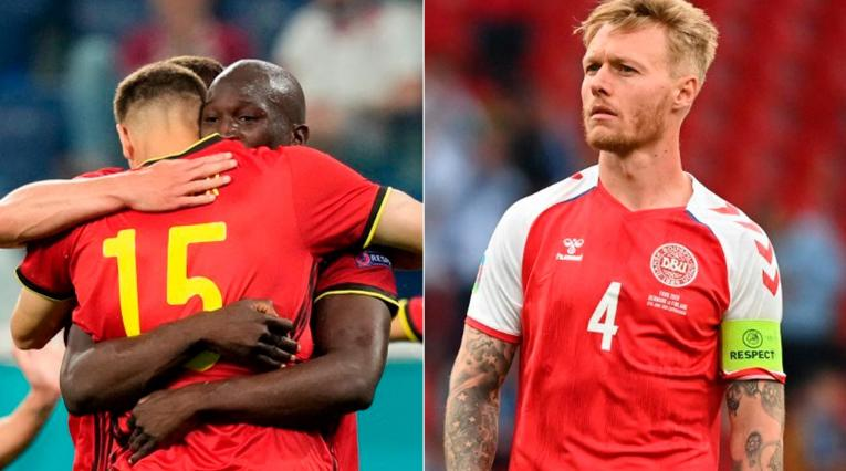 Bélgica vs Dinamarca; Eurocopa 2021