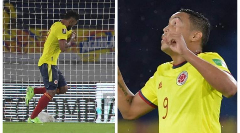 Miguel Borja y Luis Muriel - Selección Colombia