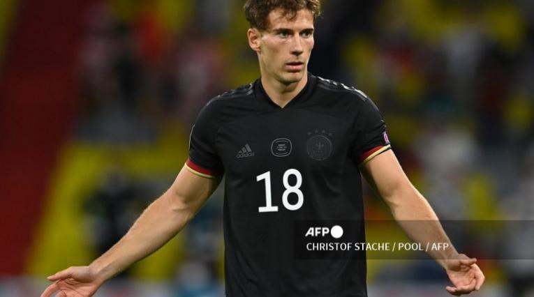 Goretzka, jugador de Alemania