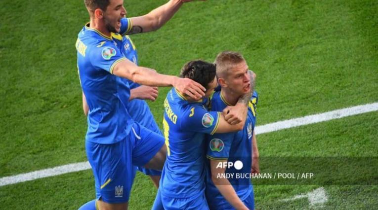 Ucrania Vs. Suecia