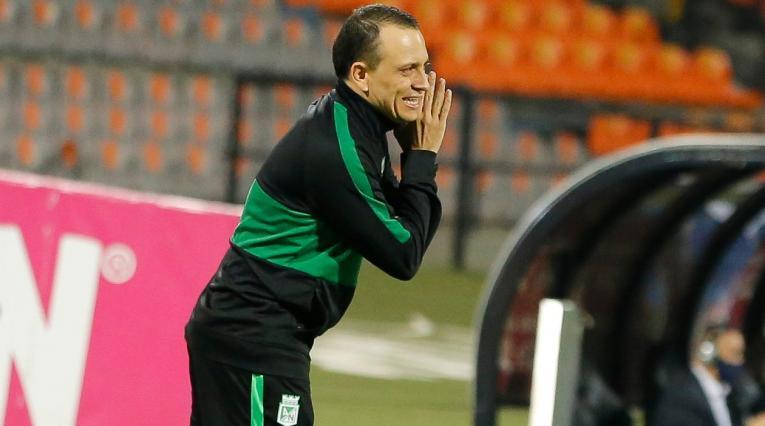 Alejandro Restrepo, técnico de Nacional