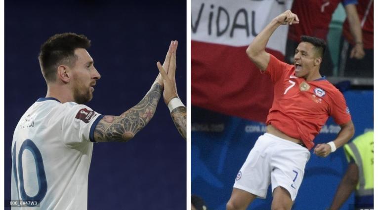 Lionel Messi y Alexis Sánchez