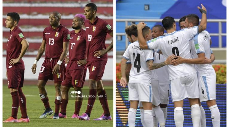 Venezuela vs Uruguay 2021