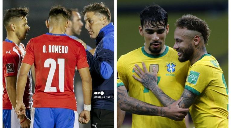 Paraguay y Brasil 2021