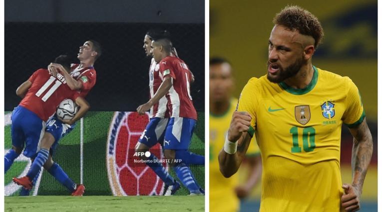 Paraguay vs Brasil 2021