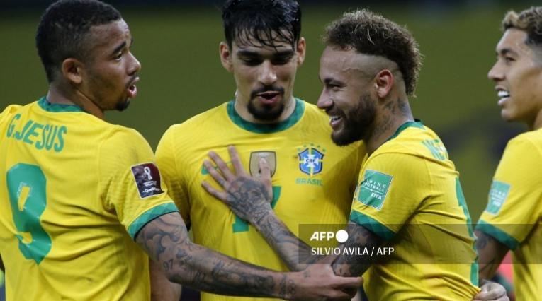 Selección de Brasil 2021