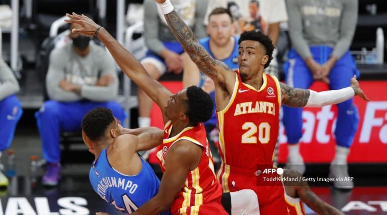 Bucks vs Atlanta Hawks quién ganó el tercer partido NBA