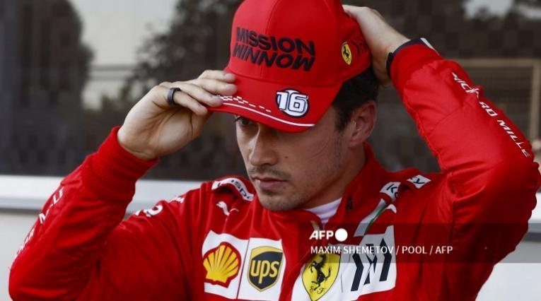 Charles Leclerc, piloto Ferrari