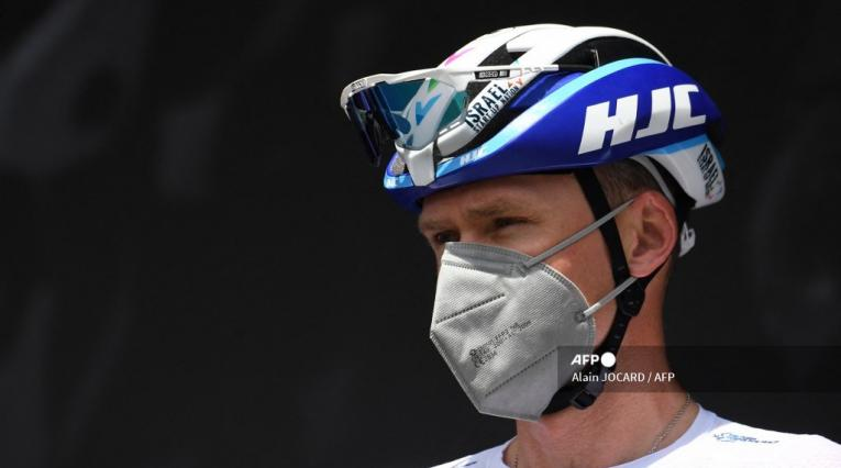 Chris Froome del Israel Start Up en el Tour de Francia