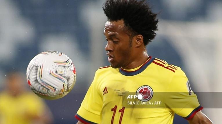 Juan Guillermo Cuadrado, jugador de la Selección Colombia
