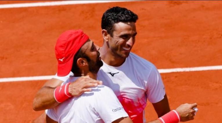 Farah y Cabal, Roland Garros