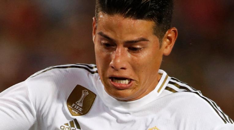 James Rodríguez y las opciones de volver al Real Madrid