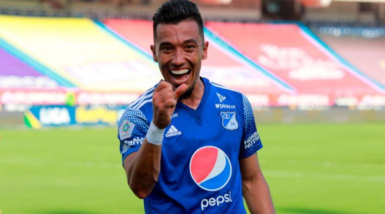 Millonarios, Liga Betplay, Fernando Uribe