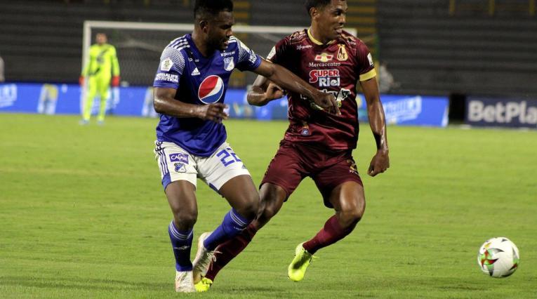 Deportes Tolima vs Millonarios 2021