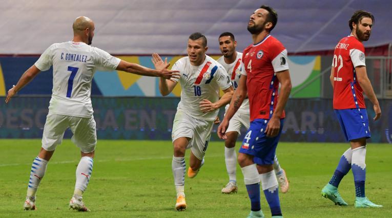 Paraguay Vs. Chile