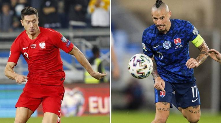 Polonia vs Eslovaquia, Eurocopa 2021