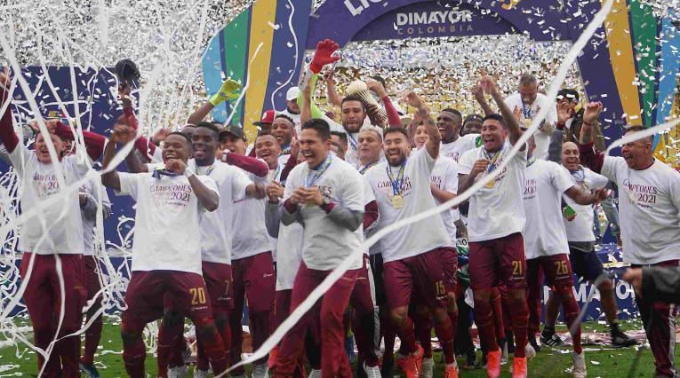 Deportes Tolima campeón 2021