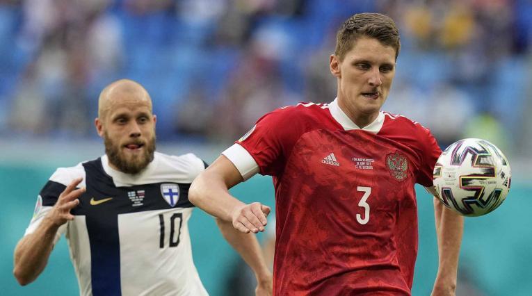 Rusia derrotó a Finlandia, Eurocopa