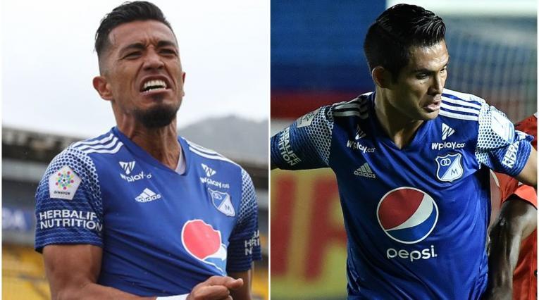 Fernando Uribe y Macalister Silva, Millonarios