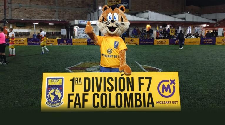 Liga Mozzart Bet Fútbol 7 en Bogotá