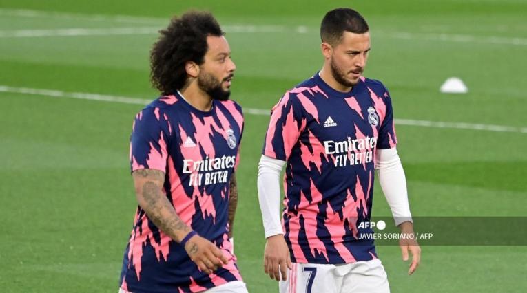 Marcelo y Hazard - Real Madrid