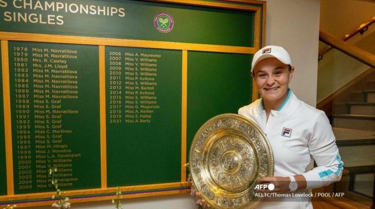 Ashleigh Barty, tenista australiana