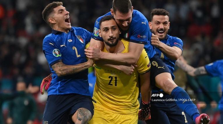 Selección Italia campeona de Eurocopa