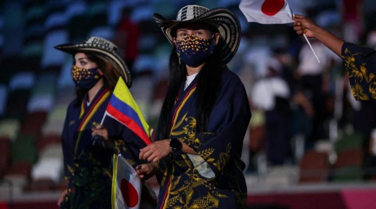 Desfile de Colombia en los Juegos Olímpicos