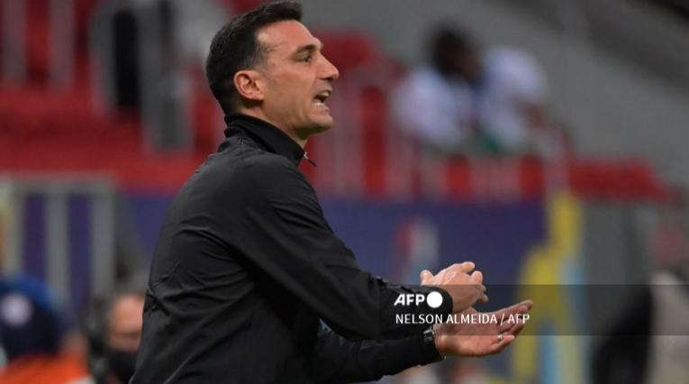 Scaloni, técnico de Argentina